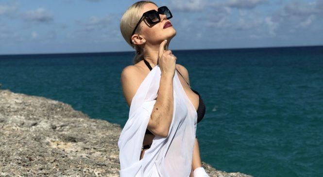 Певица BARABANOVA на Кубе спасла утопающего