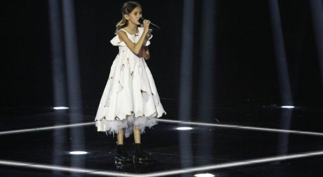 Победительница шоу «Голос. Діти-4» покорила Дрю Бэрримор