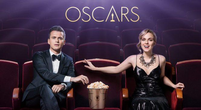 Канал «Украина» предлагает провести ночь «Оскара» с Александром Скичко и Светланой Катренко