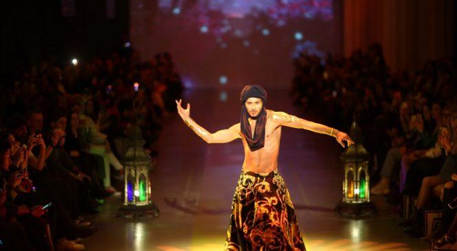 Участник шоу «Танці з зірками-2» открыл экзотический показ, в рамках UFW