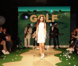 Ulyana Novozhilova презентовала модную коллекцию для игры в гольф