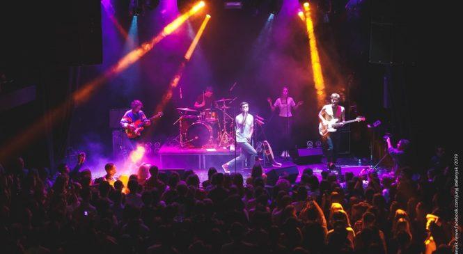 Группа BAHROMA сыграла большой сольный концерт в Киеве