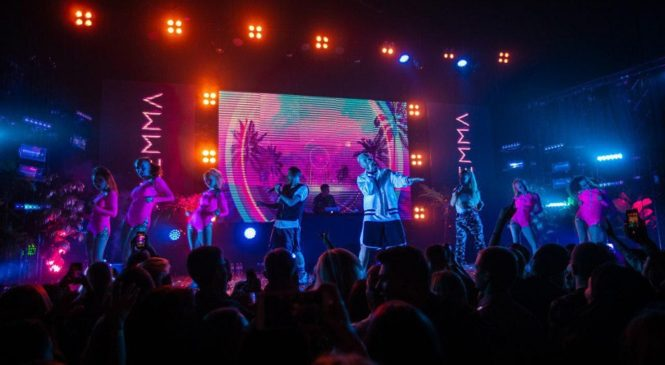Концерт группы DILEMMA удивил размахом и совместным номером с Елкой