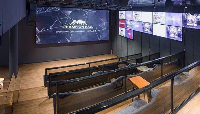 Звездные гости откроют комплекс уникального формата — Champion Hall