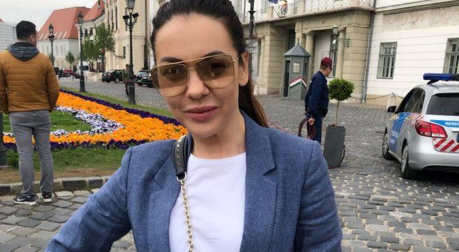 Полина Крупчак провела майские праздники в Будапеште