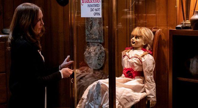 В украинский прокат вышел новый фильм ужасов «Аннабель-3»