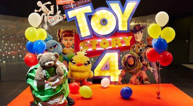 В кинотеатре «Оскар» состоялась премьера мультфильма «История игрушек-4»