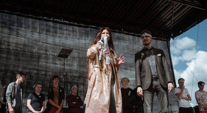 Руслана выступила в Аахене на глобальной демонстрации движения Fridays For Future