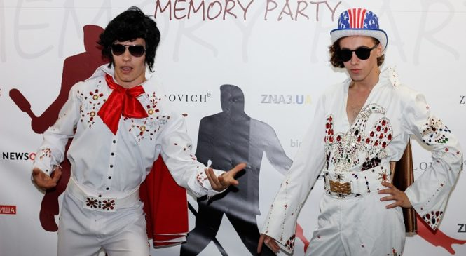 В Киеве прошла рокенрольная вечеринка памяти Элвиса Пресли