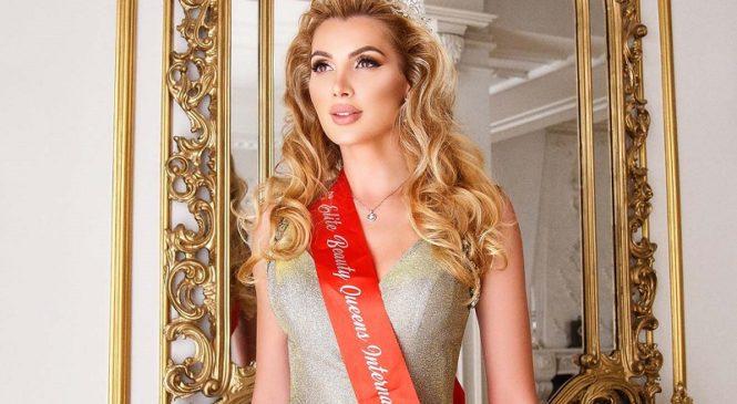 Международный посол красоты из Украины Анна Гомонова покоряет новые страны