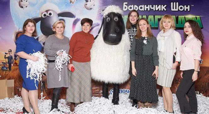 В Киеве состоялась премьера анимации «Барашек Шон: Фермагеддон»
