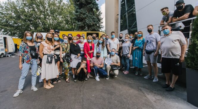 Студия «Квартал 95» снимает цикл сериалов для канала «Украина»